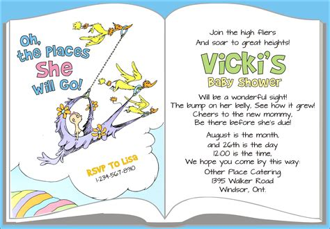 Dr Seuss Baby Shower Invitation Wording by Dr Seuss Themed Baby Shower The Cheeky