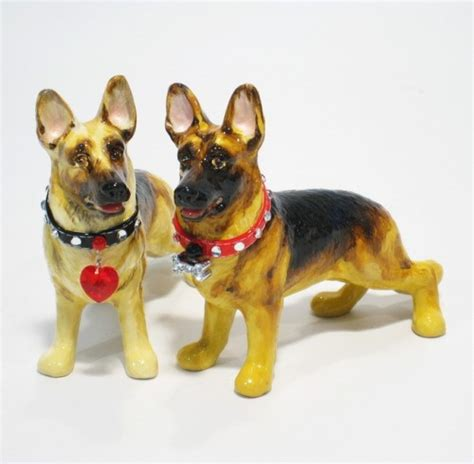 german shepherd lover ceramic s p shaker home decor