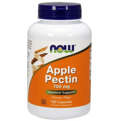 How To Detox With Apple Pectin by Now Foods Apple Pectin 700 Mg 120 Capsules Evitamins