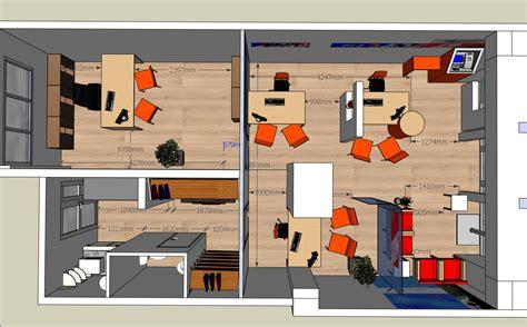 bureau plan spaceplanning plan 2d et 3d de vos travaux espace