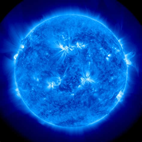Blue Nasa stunning x portrait of the sun snapped by nasa s nustar space telescope huffpost