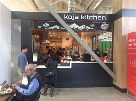 Koja Kitchen Emeryville by Koja Kitchen Emeryville Market Line Up To Order