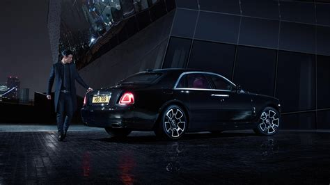 rolls royce black badge rolls royce reveals black badge edition