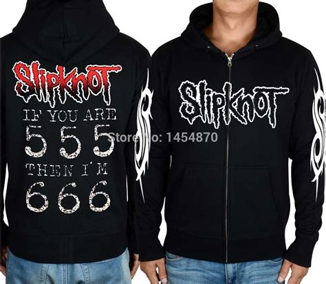 Jaket Zipper Hoddie Sweater Metal Hammer band hoodies fashion ql