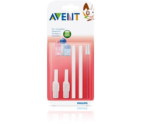 Avent Replacement Straw Brush Set straw cups scf764 00 avent
