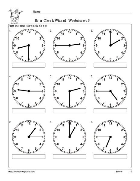 Analog Clock Practice Worksheets by Grade 3 Analog Clock Worksheets Time Worksheets Matching