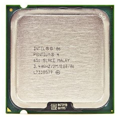 Pentium 4 Sockel by Intel Pentium 4 651 3 4ghz 800mhz 2mb Socket 775 Cpu Computers Accessories