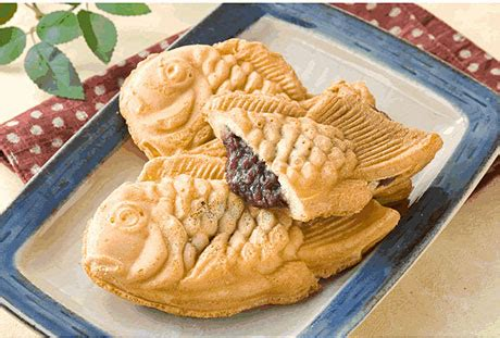 Japanese Pie taiyaki fish shaped pastry recipe keeprecipes your