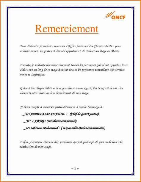 Stage De 3eme Lettre De Remerciement 13 Lettre De Remerciement Stage D Observation 3eme Exemple Lettres