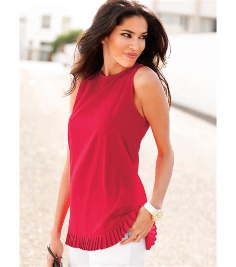 imagenes de blusas rojas camisas holgadas sin manga mujer 2 blusas de moda 2018