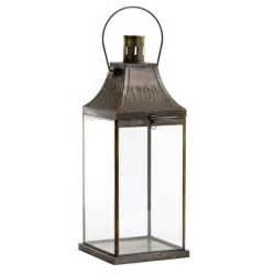 antiquity metal lantern from artisanti new england trend