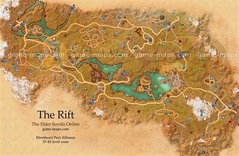 eso maps the rift map the elder scrolls maps