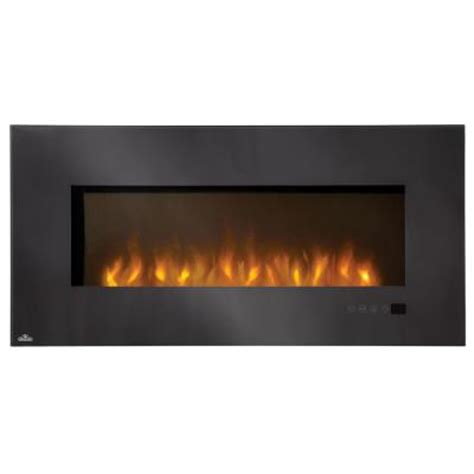 Linear Fireplace Electric by Napoleon Linear 48 In Wall Mount Electric Fireplace In