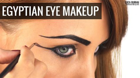 egyptian eye makeup tutorial youtube