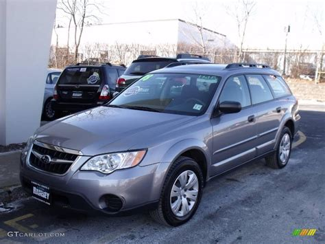 silver subaru outback 2008 subaru outback silver 200 interior and exterior images
