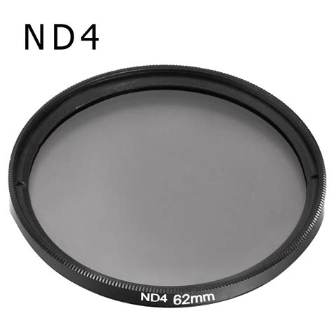 62mm Neutral Density Nd4 Filter neutral density filter nd2 nd4 nd8 62mm for nikon d3200