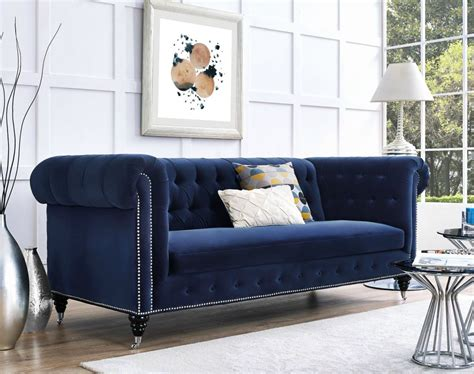 blue sofa living room 10 velvet sofas to put in your living room immediately
