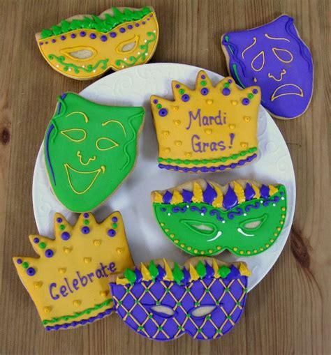 Mardi Gras Giveaways - mardi gras cookies mardi gras favors