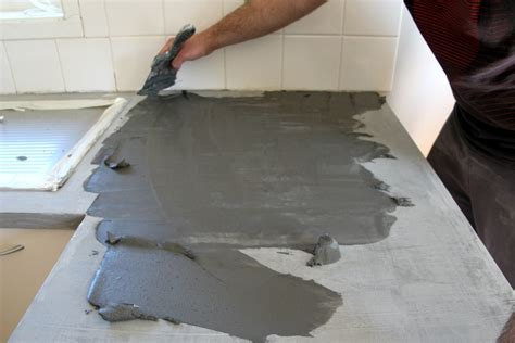 Bathroom Countertop Tile Ideas diy concrete countertop