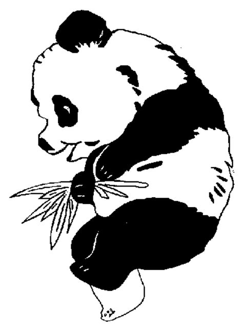 Panda Coloring Pages Coloringpagesabc Com Panda Colouring Pages