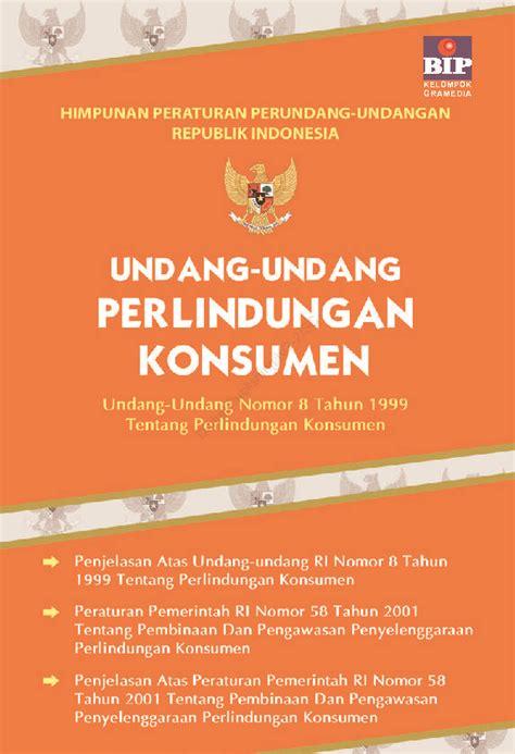 jual buku undang undang perlindungan konsumen oleh tim bip gramedia digital indonesia