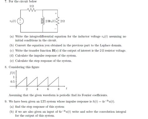 differential equation for inductor inductor voltage differential equation 28 images 2nd order circuits lecture ppt lesson 12