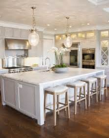 white kitchens with islands five kitchen islands we