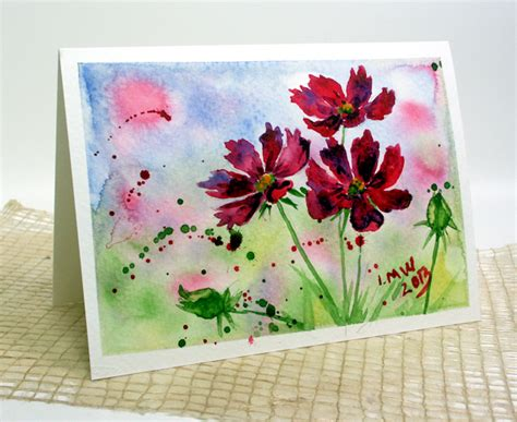 tutorial watercolor free watercolor tutorial thefrugalcrafter s weblog