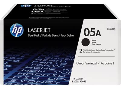 Toner Printer Hp 05 A Original hp 05a ce505d black original laserjet toner cartridges 2
