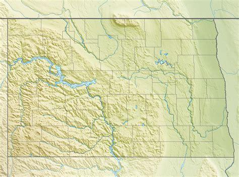 dakota map usa lake dakota map images
