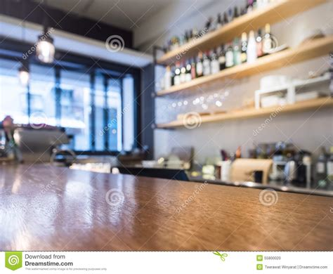 The Shelf Cafe by Table Top Counter With Kitchen Shelf Cafe Bar Background Stock Photo Image 55800020