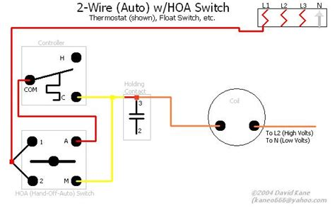 hoa switch wiring diagram 3 phase motor get free