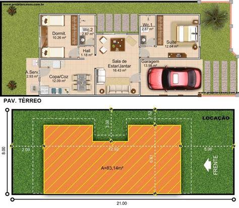projetar casas casa t 233 rrea garagem 1 quartos e 1