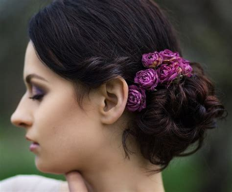 Updo Hairstyle Accessories by 20 Easy And Pretty Updo Hairstyles For Mid Length Hair