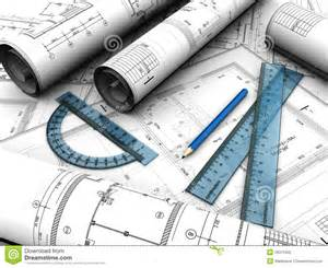 Plan Image by Engineering Plan Royalty Free Stock Photo Image 26319405