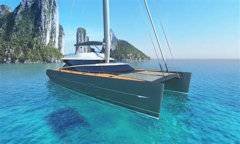 catamaran cost new blue coast 88 catamaran yacht charter superyacht news