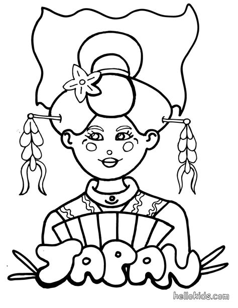 japan coloring pages japan