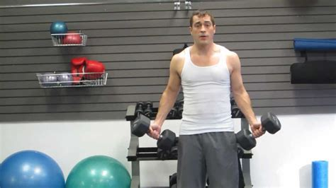 run the rack db curls palms up arm biceps workout