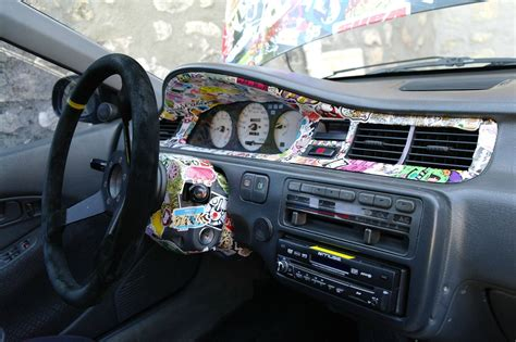 Car Interior Smoke Bomb by Sticker Bomb Ideas Design 69 Result Mobmasker