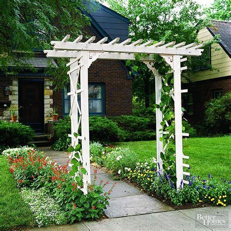 build  simple entry arbor