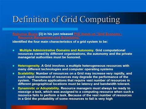 define grid pattern geography grid computing asad khailany eastern michigan university