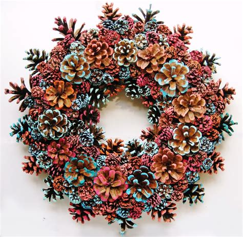 crafts with pine cones 43 best handmade pine cone wreaths images on