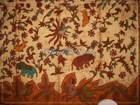 Rok Lilit Batik Cap Motif Gajah batik tulis motif hewan gajah burung unik batik