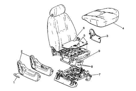 automotive service manuals 2010 chevrolet avalanche seat position control passenger side seat position sensor replacement chevrolet forum chevy enthusiasts forums