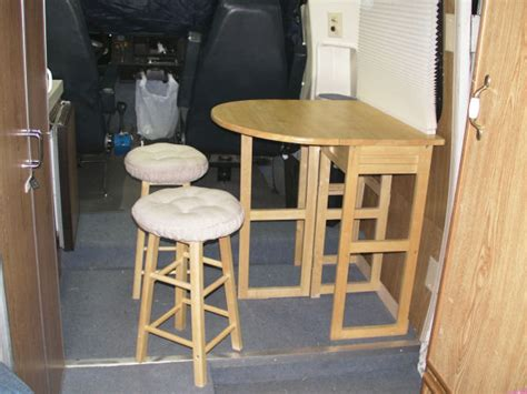 rv folding dinette table folding dinette table rv