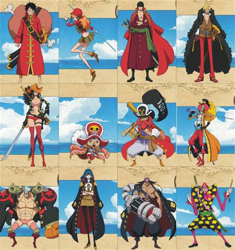 movie one piece film z one piece film z breaks more records animation magazine