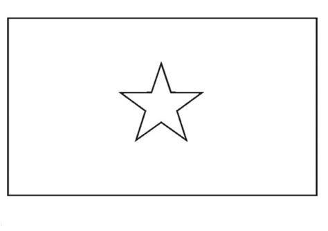 Somalia Flag Coloring Page somalia flag free colouring pages