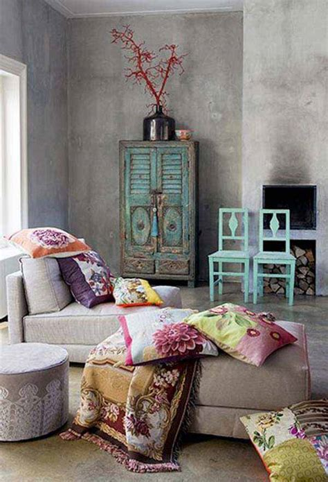boho home decor 35 charming boho chic bedroom decorating ideas amazing
