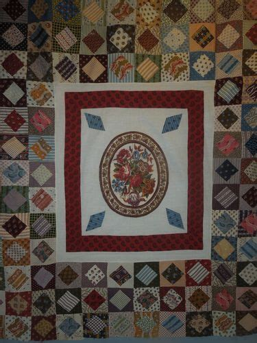 Antique Patchwork Quilts - 19th century antique patchwork quilt circa 1850