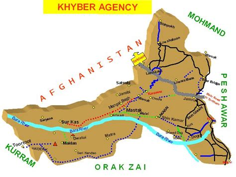 middle east map khyber pass doctor in khyber agency fata kp news